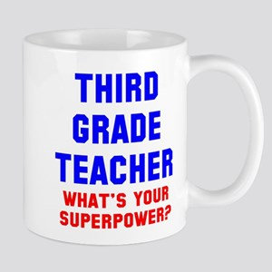 3rd grade teacher superpower Mug