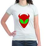 Evil Alien Jr. Ringer T-Shirt