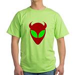 Evil Alien Green T-Shirt