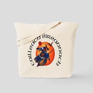 Irish Witch (Gaelic) Tote Bag