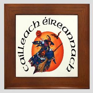 Irish Witch (Gaelic) Framed Tile