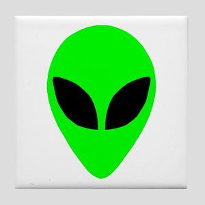 Alien Head Tile Coaster