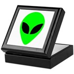 Alien Head Keepsake Box