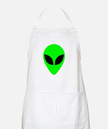 Alien Head BBQ Apron