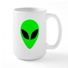 Alien Head Large Mug