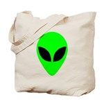 Alien Head Tote Bag