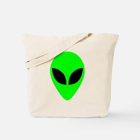 Alien Head Tote Bag