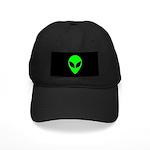Alien Head Black Cap