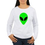 Alien Head Women's Long Sleeve T-Shirt