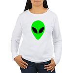 Alien Head Women's Long Sleeve T-Shirt