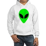 Alien Head Hooded Sweatshirt
