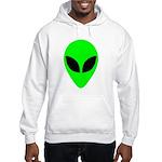Alien Head Hooded Sweatshirt