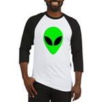 Alien Head Baseball Jersey