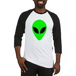 Alien Head Baseball Jersey