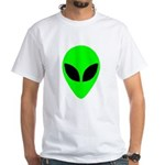 Alien Head White T-Shirt
