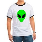 Alien Head Ringer T