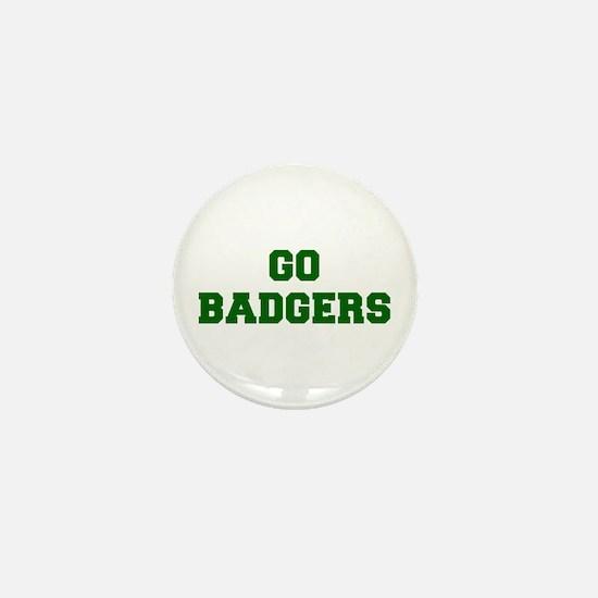 Badgers-Fre dgreen Mini Button