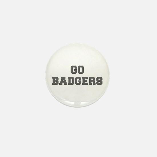 BADGERS-Fre gray Mini Button