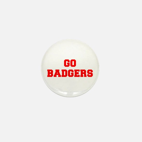 BADGERS-Fre red Mini Button