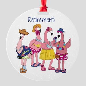 Retired Flamingos Ornament