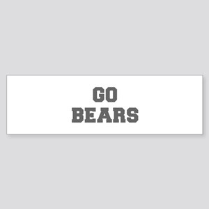 BEARS-Fre gray Bumper Sticker
