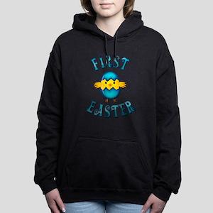 First Easter - Baby Boy Women's Hooded Sweatshirt