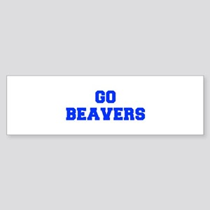 Beavers-Fre blue Bumper Sticker