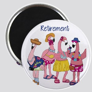 Retired Flamingos Magnets