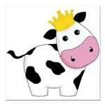 King Cow Square Car Magnet 3