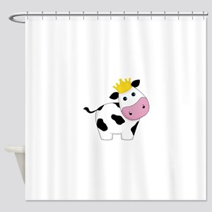 King Cow Shower Curtain