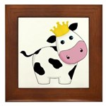 King Cow Framed Tile