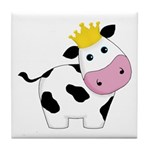 King Cow Tile Coaster