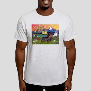 Fantasy / Wire Haired Dachshund Light T-Shirt
