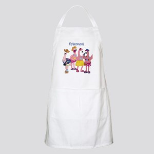 Retired Flamingos Apron