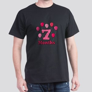 7 Months - Pink Zebra T-Shirt