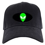 Alien Head Black Cap