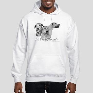3 Irish Wolfhound Hoodie