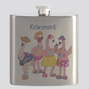 Retired Flamingos Flask