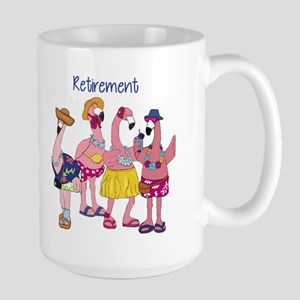 Retired Flamingos Mugs
