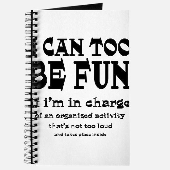 I Can Be Fun Journal
