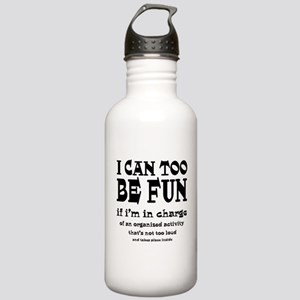 I Can Be Fun Stainless Water Bottle 1.0L