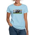 Sunrise Lilies / Doxie's Rule Women's Light T-Shir