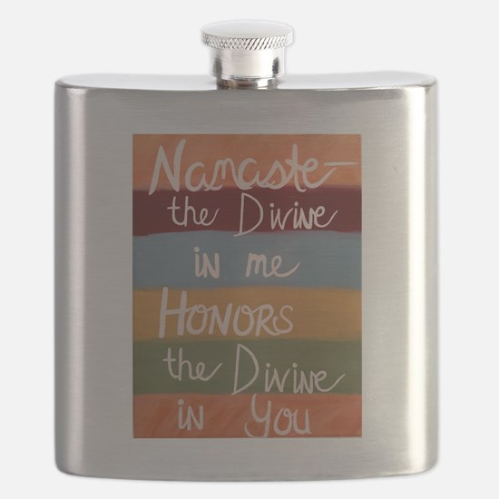 Cute Peace with honor Flask