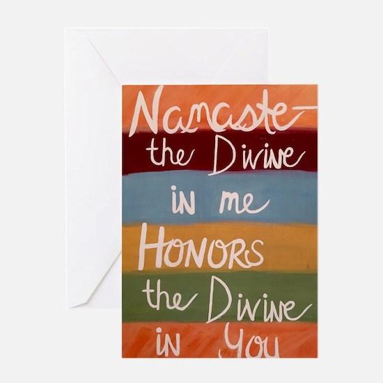 Unique Namaste Greeting Card