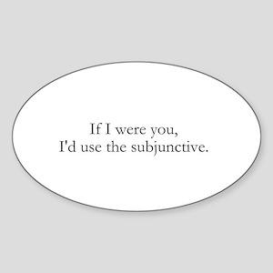 If I were you Sticker