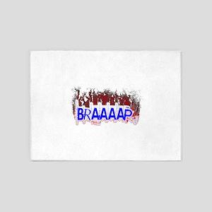 Braaaap 5'x7'Area Rug