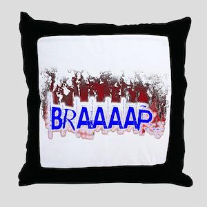 Braaaap Throw Pillow