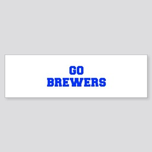 brewers-Fre blue Bumper Sticker