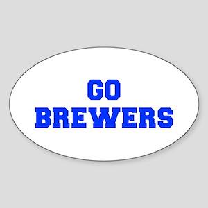 brewers-Fre blue Sticker
