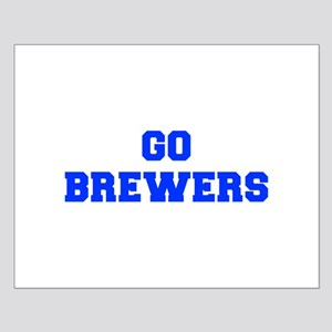 brewers-Fre blue Posters